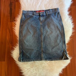 Guess Jeans Skirt Size 32
